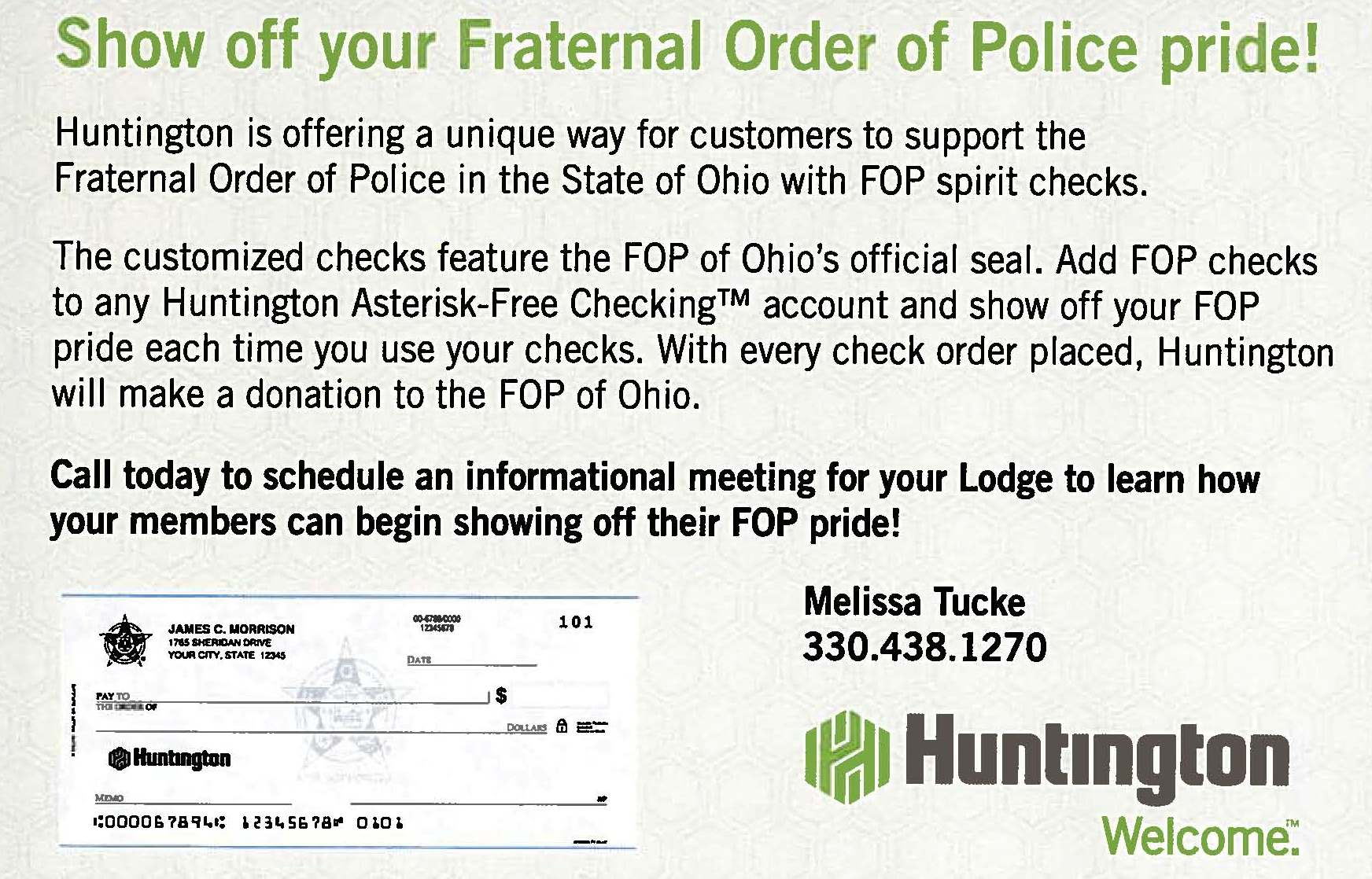 Huntington Spirit Check Program